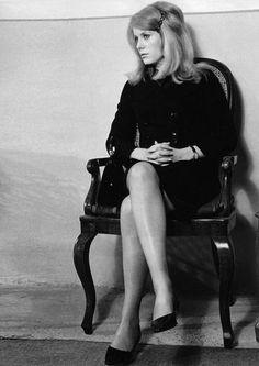Catherine Deneuve, 1967. Photo by Erich Kocian.