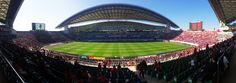 Saitama Stadium It is one of the best places among Japan. Urawa Red Diamonds, Urawa Reds, Saitama, Baseball Field, The Good Place, Good Things, Japan, Places, Japanese