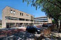 Social Housing Sandtlaan, HVE architecten. #brick facade, social #housing