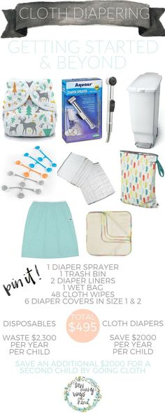How much do you really save when you decide to cloth diaper your baby? I go over how to get started cloth diapering and keep it going. Great for beginners and newbies! Learn what you need, how to clean your diapers, detergents to use, how to strip your cloth diapers and much more! - SewManyWaysKimi