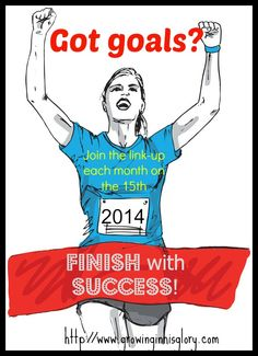 """If you have goals for the new year (or you make goals on a monthly or weekly basis), then you need to be part of this series """"Finish with Success"""" to help you make, work towards, and succeed in your goals!"""