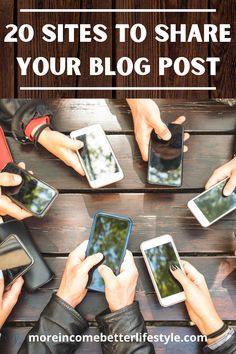 No blog is complete without an audience. Are you using all the sites on this list to connect with readers? More Income, Better Lifestyle wants to help get your ideas seen.