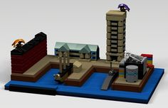 Baltimore's Inner Harbor is one of the most picturesque waterfronts in America. It serves as a model for urban re-development for cities across the world. The Lego Baltimore s...