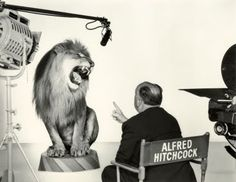3/17/14  5:25a  Alfred Hitchcock Directs  MGM's Leo the Lion!