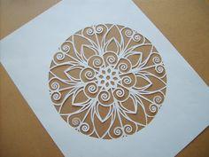 Paper cut by Paper Lavender