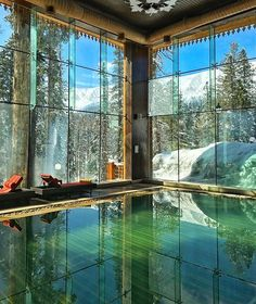 """archatlas: """" The Khyber Himalayan Resort & Spa"""" Elle Decor, Swimming Pool Designs, Swimming Pools, Best Interior Design, Interior And Exterior, Room Interior, Himalayan, Beautiful Hotels, Beautiful Places"""
