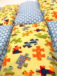 Sew a Weighted Blanket Project Linus Nancy Zieman Blog