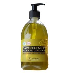 Savon d'Alep Liquide (mains, visage, corps) Olives, Gel Douche Bio, Aleppo Soap, Agriculture Biologique, Hygiene, Tree Oil, Personal Care, Beauty, Natural Cleaners