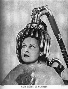 the good old hair dryer. Yikes! I'll let mine air dry, thank you very much