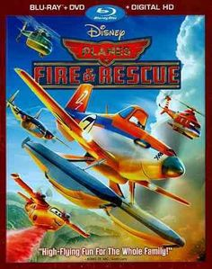 Planes Fire & Rescue (Blu-Ray/Dvd/Dhd/Eng-Fr-Sp Sub)