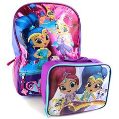 Shimmer and Shine 16 inch Backpack and Lunch Box Set #Shimmer&Shine #Genies…