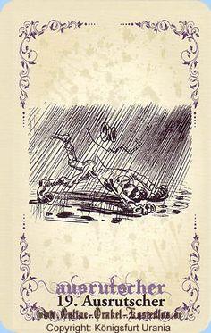illustrations de wilhelm busch | Ausrutscher vom Wilhelm Busch Orakel | Selbstvertrauen gewinnen