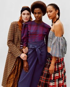 check inspirations#checks#checkskirt#fashionchecks#newchecks