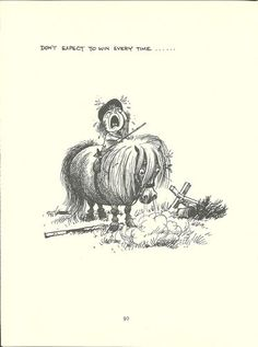 Thelwell's Original Vintage Pony Horse Mount Cartoon Print 1964 Comical