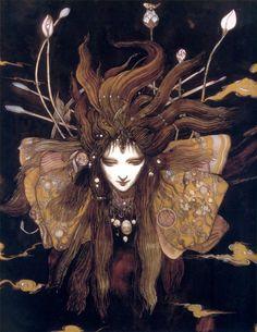 for the faeries ❧ Yoshitaka Amano