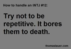 INTJ - Or pins pinned twice on the same board. Seriously people, do you even look at your own boards?