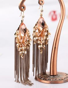 Cheap earrings free, Buy Quality tassel cord directly from China earring name Suppliers:         WELCOME               Description:       High Quanlity Crystal