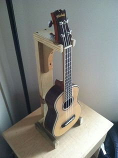 Learn how to make a single personal Ukulele stand.