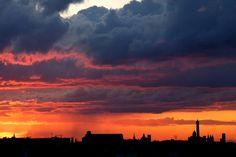 Tramonto e Skyline ... (foto di Massimo Matera)