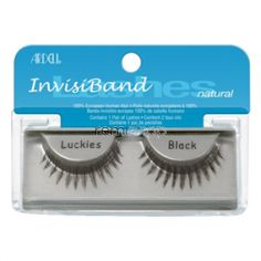 Ardell Natural Luckies  - Color Black - Strip Natural Style Eyelashes
