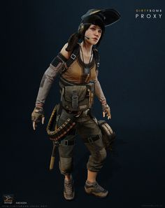 Character art from the F2P shooter Dirty bomb by Splash Damage & Nexon. These characters were made anywhere from 1-3 years ago and are shown in Unreal 3.   Various character concepts by Manuel Dischinger, Georgi Simeonov, Adam Baines and Igino  Additional work and help from Vincent Joyau, Ben Davis, Tim Appleby and Ben Garnell for Weapons