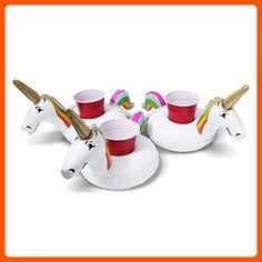 GoFloats Unicorn Drink Float (3 Pack) - Fun stuff and gift ideas (*Amazon Partner-Link)