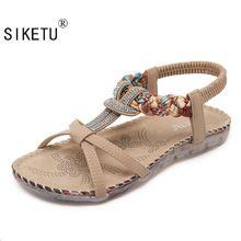 US $15.96 SIKETU Free Shipping 2017 New Folk Style Sandals Bohemia Diamond Shoes Beach Shoes Women Shoes Women Sandals Summer 527-2. Aliexpress product
