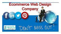 Get affordable Ecommerce Web Design Services Online!