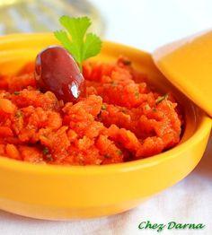 zaâlouk aux carottes
