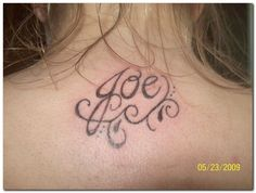 tattoos with children's names | Name Tattoos and Tattoo Designs Pictures Gallery