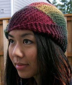 Free knitting pattern for Mochi Plus Swirl Hat