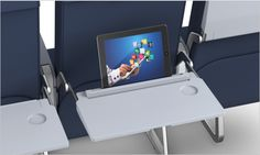The 2013 SmartTray X1 is an improved economy seat tray which has built in iPad capability and redeveloped designs.