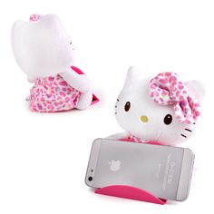 Hello Kitty phone holder! How adorable? Get it at Rakuten Global Market