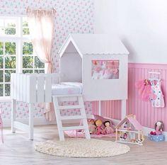 uma casinha para as mais pequenas.