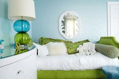 What a fabu lamp! :-) House of Turquoise: Jules Duffy Designs