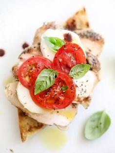 Chicken Caprese Sandwich - foodiecrush