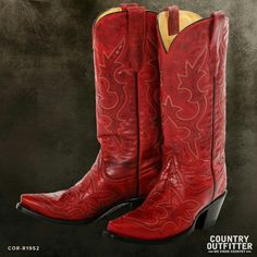 4c96ba91855 37 Best TO SATISFY MY OBSESSION WITH RED COWBOY BOOTS images