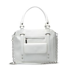 White purse from Shoedazzle.com
