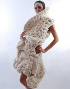 We love this #look #diy #merino #wool #coolwool #tejer #knitting