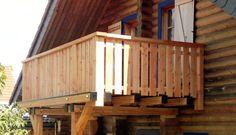 http://www.massivholzhaus.team - Holzbalkonen werden auch von uns gebaut :) Zimmerermeister Gerd Ribbeck