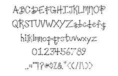 クオリティが高く可愛い落書き風フリーフォント40個集めました | クリエイティブメモメモ