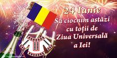 24 Iunie Să ciocnim astăzi cu toții de Ziua Universală a Iei!