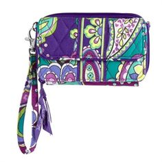 Vera Bradley All in One Crossbody - perfect for your phone, credit cards, ID, cash, and a little something extra!