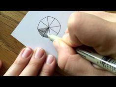 Zentangle Muster (Pattern): Maryhill - YouTube