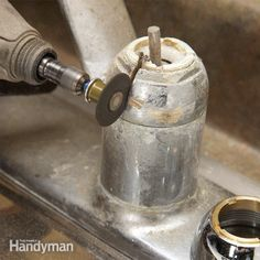 when kitchen or bathroom faucet repairs go bad, they can be a nightmare. professional plumbers share their solutions for disassembly and repair problems, with tips about when to give up and buy a new faucet.