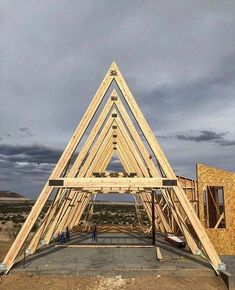 - a-frame house Tiny House Cabin, Tiny House Design, Cabin Homes, Log Homes, A Frame Cabin Plans, Triangle House, Shed Plans, House In The Woods, Building A House
