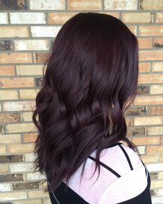 nice 50 Prepossessing Dark Red Hair Ideas - The Graceful Redhead Hairdos
