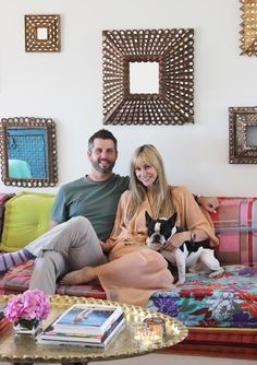 Name: Tyler Stonebreaker - CEO of Creative Space and Kristina Stonebreaker - Director of Sales and Marketing for Korovilas ClothingLocation: Whitley Heights - Los Angeles, CASize: 3,000 square feet Years lived in: 2 years Kristina had always dreamed of living in a classic Spanish-style house. When she and Tyler got married and decided to create a home together, they left Tyler's modern home and moved to a house in Whitley Heights, a historic area of Los Angeles. They've slowly started…