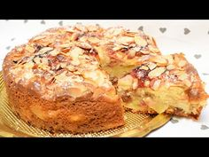 Almás pite és lekvár mandulával - YouTube Flan, Apple Pie, French Toast, Deserts, Food And Drink, Cooking, Breakfast, Youtube, Marmalade