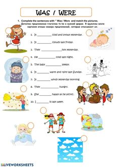 Was - were - pp Language: English Level/group: School subject: English as a Second Language (ESL) Main content: Was or were Other contents: Grammar For Kids, Teaching English Grammar, English Worksheets For Kids, 1st Grade Worksheets, Grammar Lessons, English Vocabulary, Was Were Worksheets, English Learning Spoken, Learning English For Kids